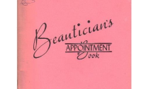 Beauticians Appointment Book